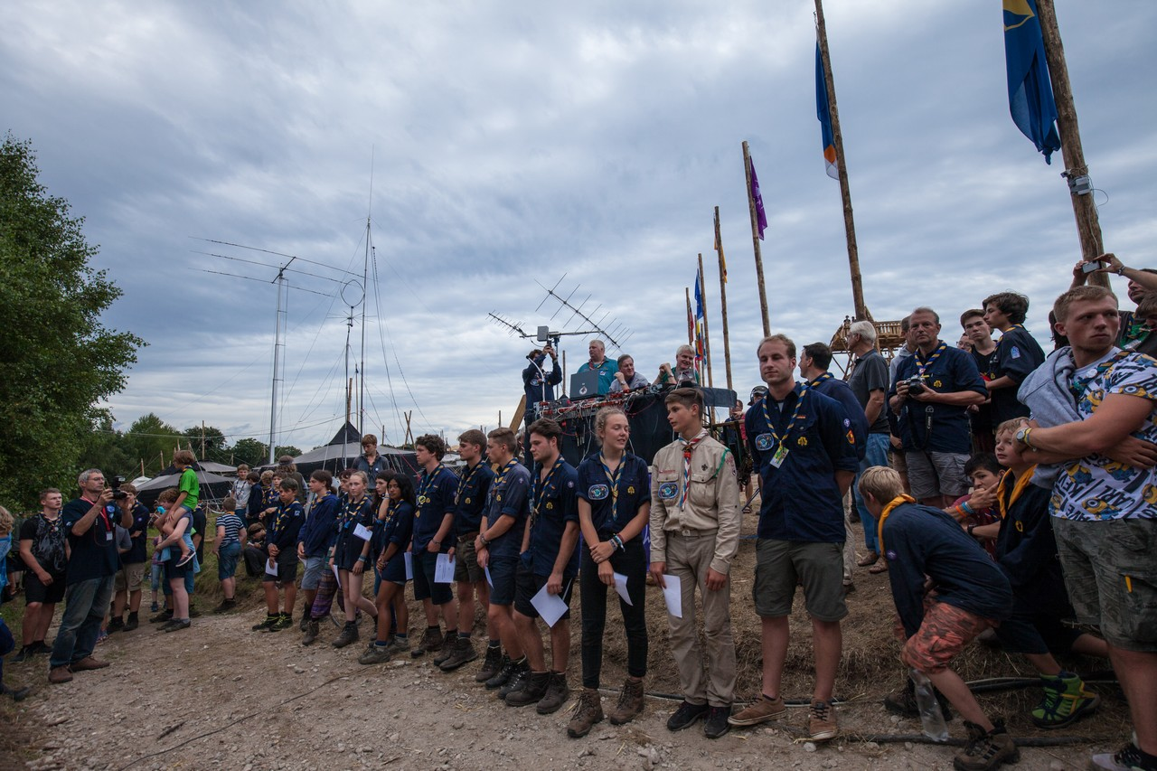 01 BdP Bundeslager 2017 ISS Scouts and Hams 01. August 2017 0019
